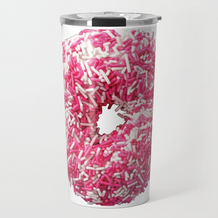 Colored Donut Travel Mug