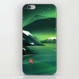 Sailing home iPhone Skin