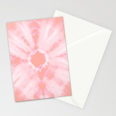 Tie Dye Pink Stationery Cards