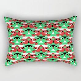 Kissing Pacmen Rectangular Pillow