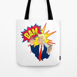 Stop Tweeting Trump Tote Bag