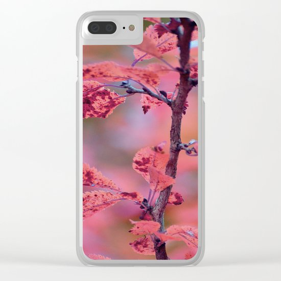 #17 Clear iPhone Case