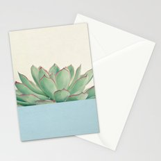 Succulent Dip III Stationery Cards