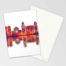 Palermo Skyline Stationery Cards