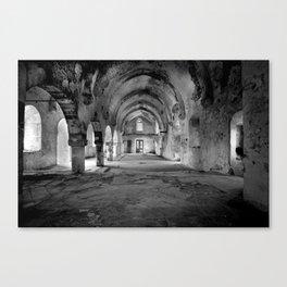 A derelict churh in Northern Cyprus Canvas Print