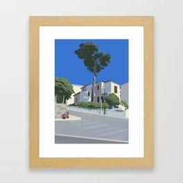 Cimiez Framed Art Print