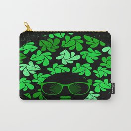 Afro Diva : Green & Black Carry-All Pouch