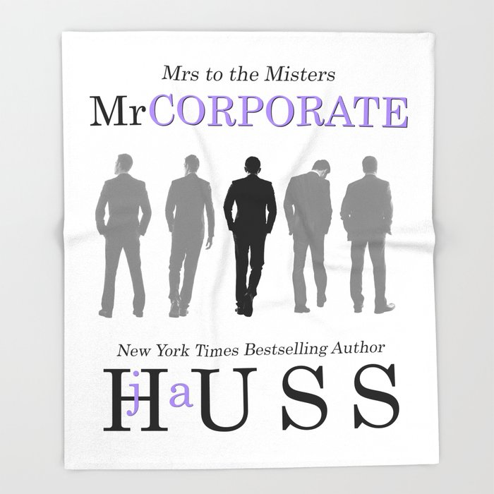 Mr. Corporate by JA Huss Throw Blanket