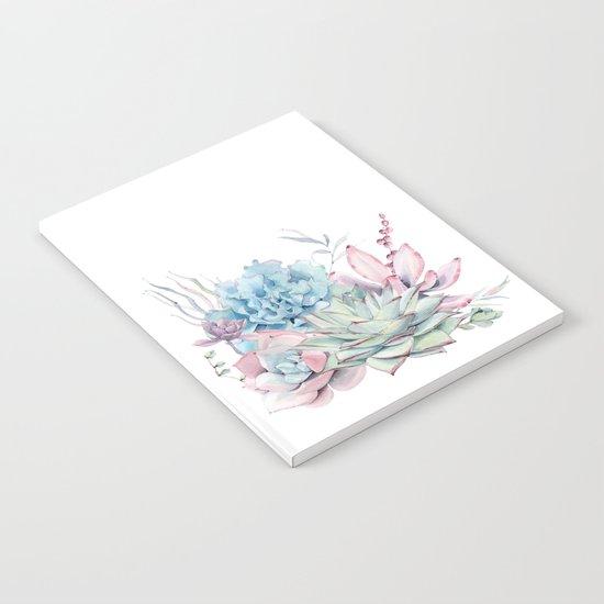 Pretty Pastel Succulents by naturemagick