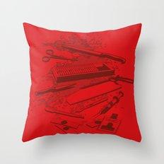 Serial Killer Toolbox Throw Pillow