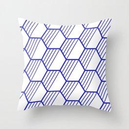 LYLA ((berry blue)) Throw Pillow