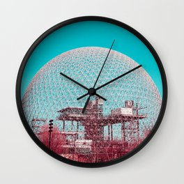 Surreal Montreal 6 Wall Clock
