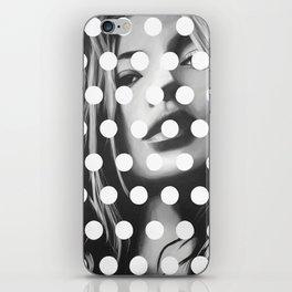 Kate Moss x Dots by Moe Notsu iPhone Skin