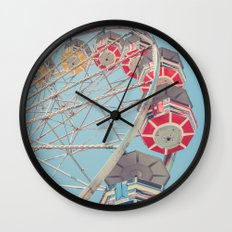 The Ferris Wheel 2 Wall Clock