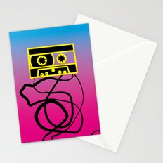 80's problems: Cassette Tape Stationery Cards