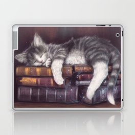 Keeper of the Books Laptop & iPad Skin