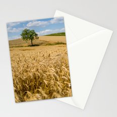 Wheat And A Tree Stationery Cards