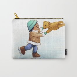 Activist Art: Water is Life Carry-All Pouch
