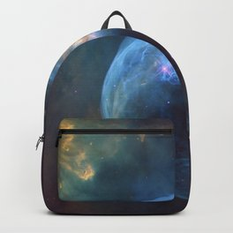 Bubble Nebula In Space Backpack