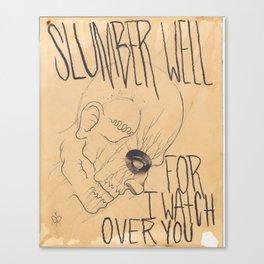 Slumber well  Canvas Print