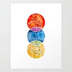 RYB color model Art Print