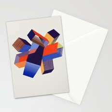 Geometric Painting by A. Mack Stationery Cards
