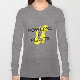 Powered By Plants Long Sleeve T-shirt