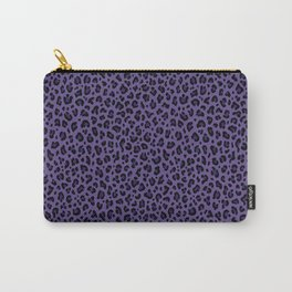 PSYCHOBILLY PURPLE LEOPARD PRINT – Ultra Violet | Collection : Punk Rock Animal Prints. Carry-All Pouch