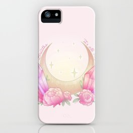 Breathe. it's all okay iPhone Case