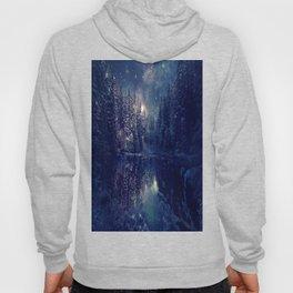 Winter Forest Deep Pastel Hoody