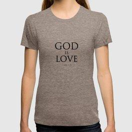 God is Love - Bible Lock Screens T-shirt