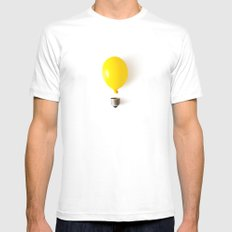 Idea White Mens Fitted Tee MEDIUM