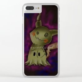 Mimikyu Clear iPhone Case
