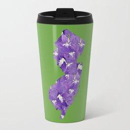 New Jersey in Flowers Travel Mug