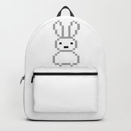 White bunny Backpack