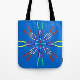 Pliers Design Tote Bag