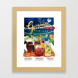 Guinguettes Framed Art Print