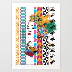 Layer upon layer of beauty Art Print