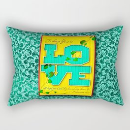 To Choose Life is to Love . . . Rectangular Pillow