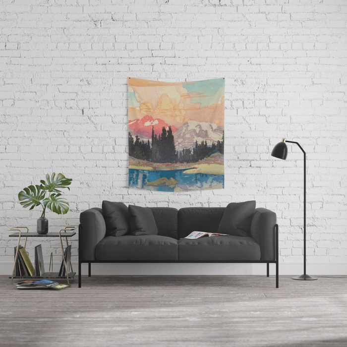 Storms over Keiisino Wall Tapestry