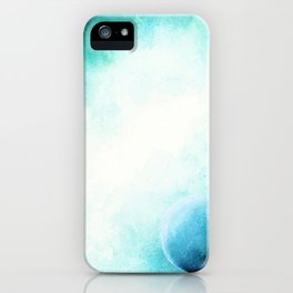 WaterColor Space by hand iPhone Case