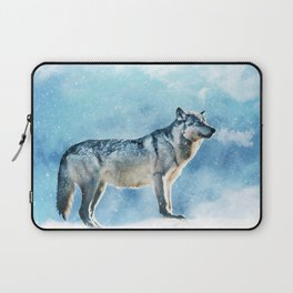 Artic Wolf Laptop Sleeve