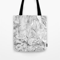 meditation Tote Bags featuring Meditation by Dorothy Pinder