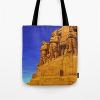 guardians Tote Bags featuring Guardians by itsme23
