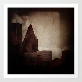 A City with No Name Art Print