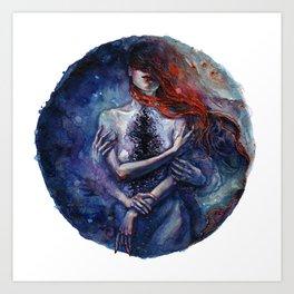 Tanya Shatseva x Tamaryn Art Print