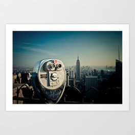 The Top of the Rock Art Print