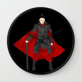 An ancient Chinese warrior swordsman, warrior, martial arts master, assassin,ranger,Ke Jing Wall Clock