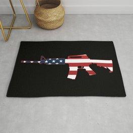 AR-15 Stars & Stripes Rifle Rug