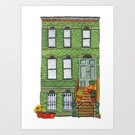 Brooklyn House 1 Art Print